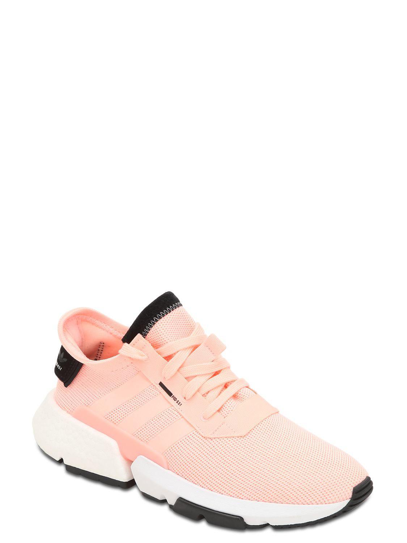 wholesale dealer d7738 3616c Lyst - adidas Originals Pod-s3.1 Sneakers in Pink