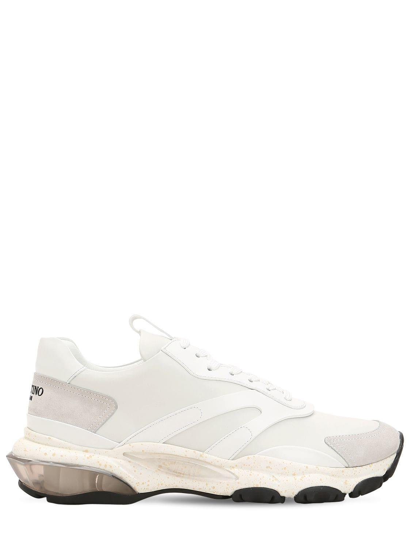 48afba6e15bb Lyst - Valentino Garavani Bounce Sneakers in White for Men - Save 61%