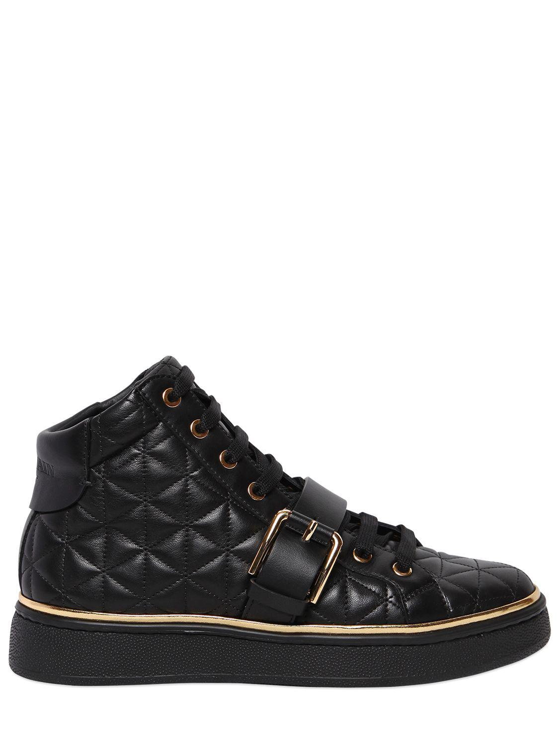 Balmain Active quilted sneakers VjtATCRvy