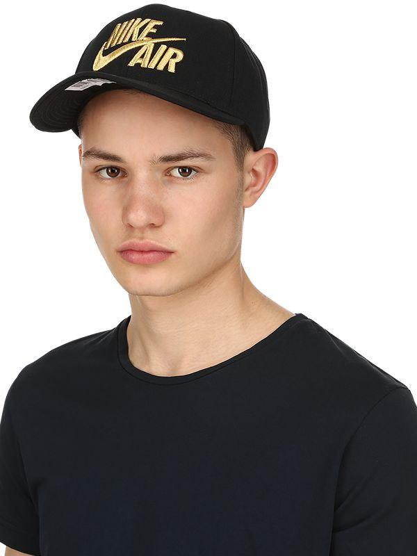 c866ac311ba19 Lyst - Nike Air True Baseball Hat in Black