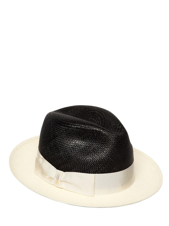 Lyst - Borsalino Cappello Panama
