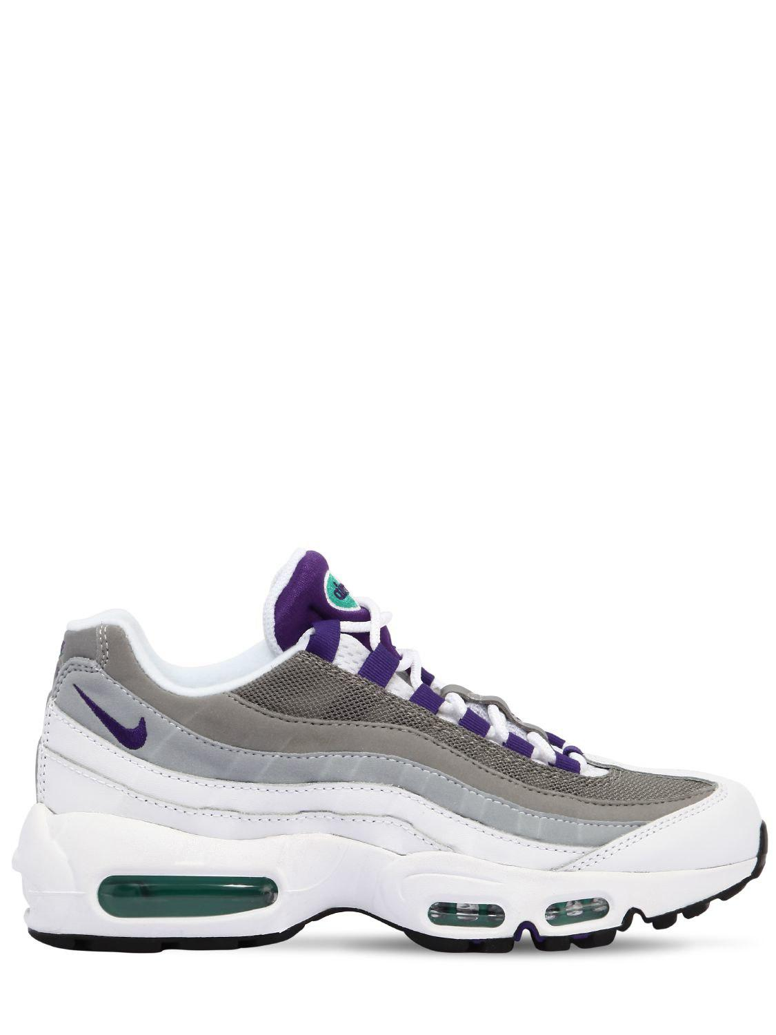 official photos a8d1f f1c80 order lyst in nike air max 95 sneakers in lyst lilla 3f31b5 e200d f166e