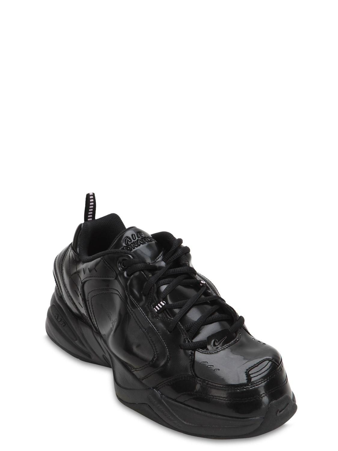 be01c74d0fe Nike - Black Martine Rose Air Monarch Iv Sneakers for Men - Lyst. View  fullscreen