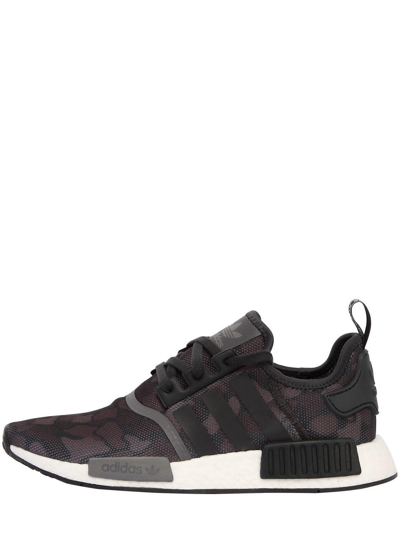 809ab2b0b Adidas Originals Nmd R1 Sneakers in Black for Men - Lyst
