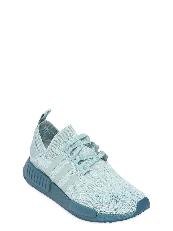 a33d5c63b434b adidas Originals Nmd R1 Pk Stretch Mesh Sneakers in Blue - Lyst