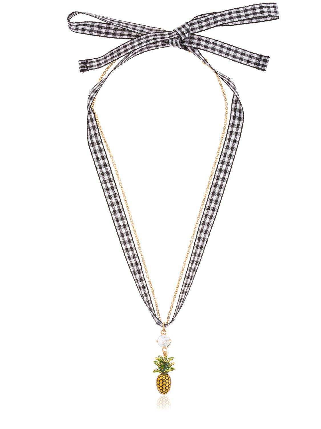 Pineapple necklace Miu Miu Buy Cheap Pay With Paypal Sk93hhK7i2