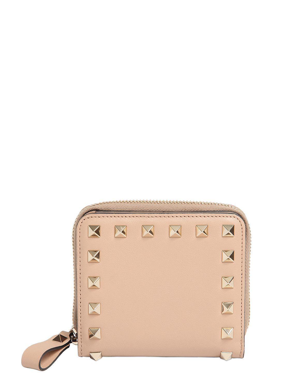 Rockstudk Zip Around wallet Valentino qPyiwTRcKj