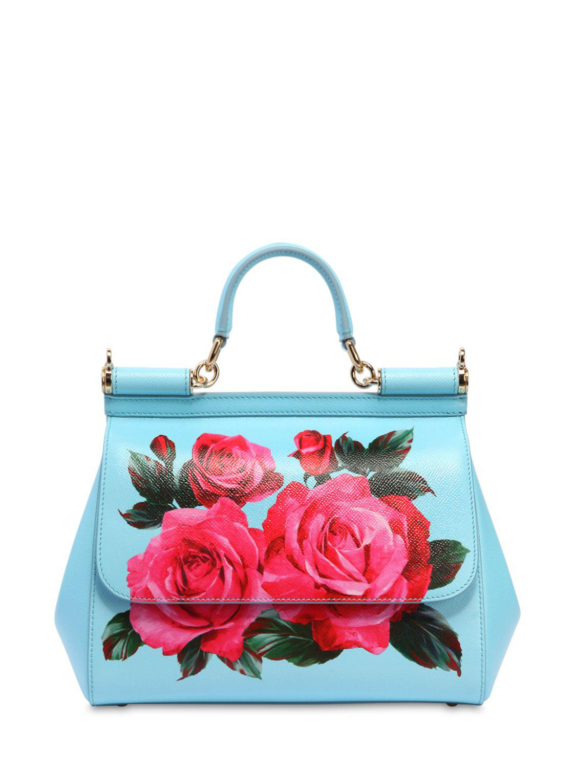 fa7a6f385c Gallery. Previously sold at: LUISA VIA ROMA · Women's Leather Bags Women's Dolce  Gabbana Sicily
