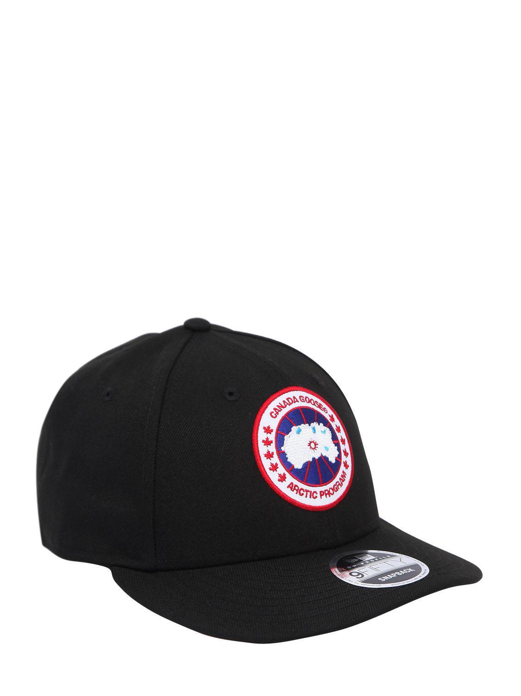Canada Goose New Era Core Cap in Black for Men - Lyst d20ba9753cb