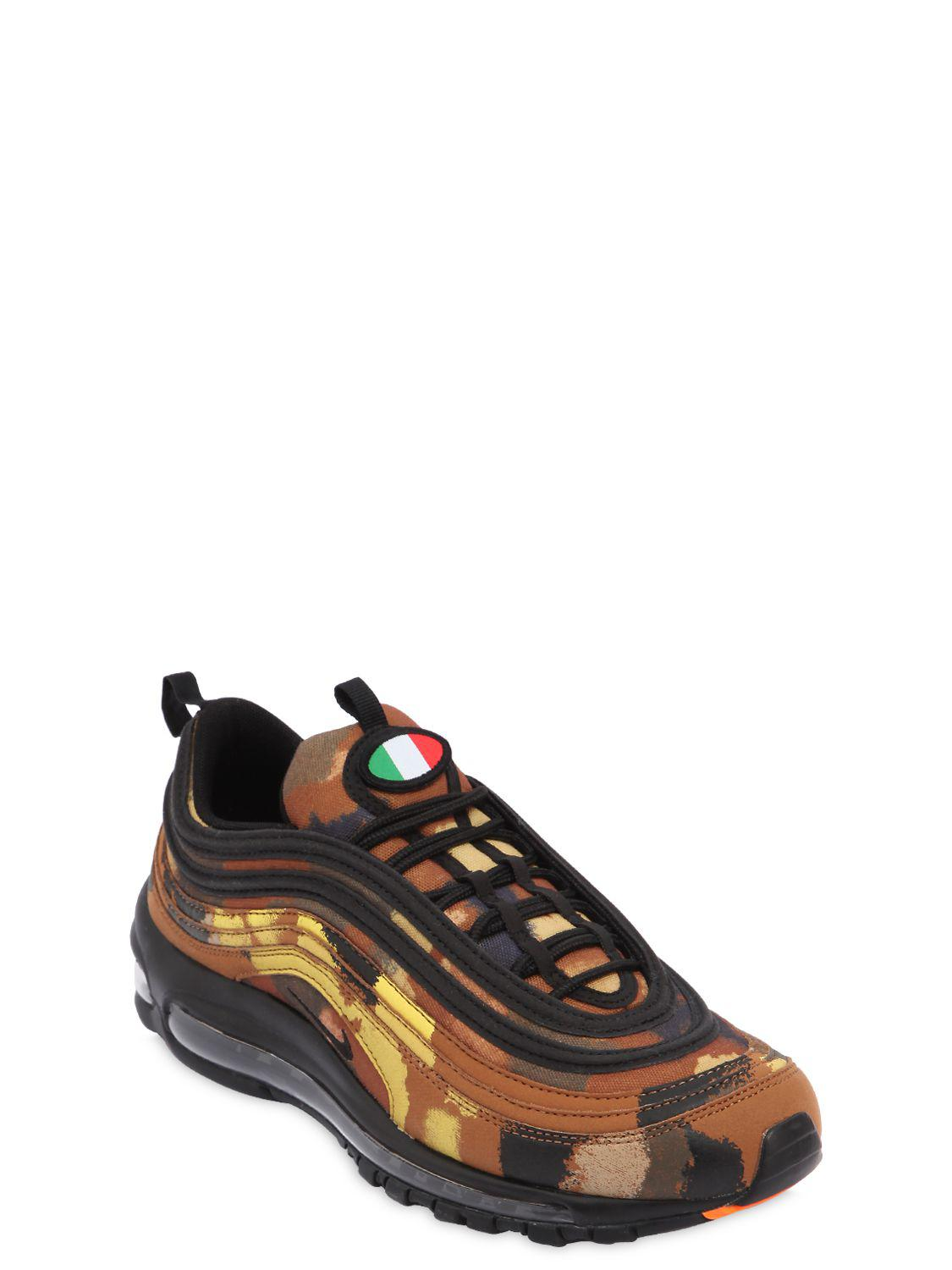 reputable site ed903 99ba2 Nike Air Max 97 Camo Pack Italy Sneakers for Men - Save 51% - Lyst