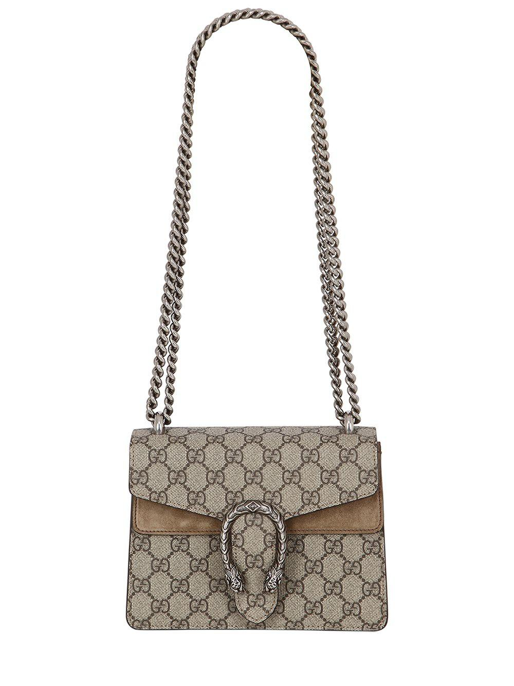9ace9876ab4 Gucci Mini Dionysus Gg Supreme Shoulder Bag - Save 12.06896551724138% - Lyst