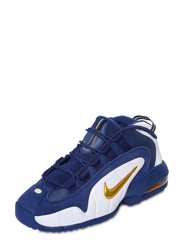 88ca17cdc7 Nike - Blue Air Max Penny Sneakers for Men - Lyst. View fullscreen