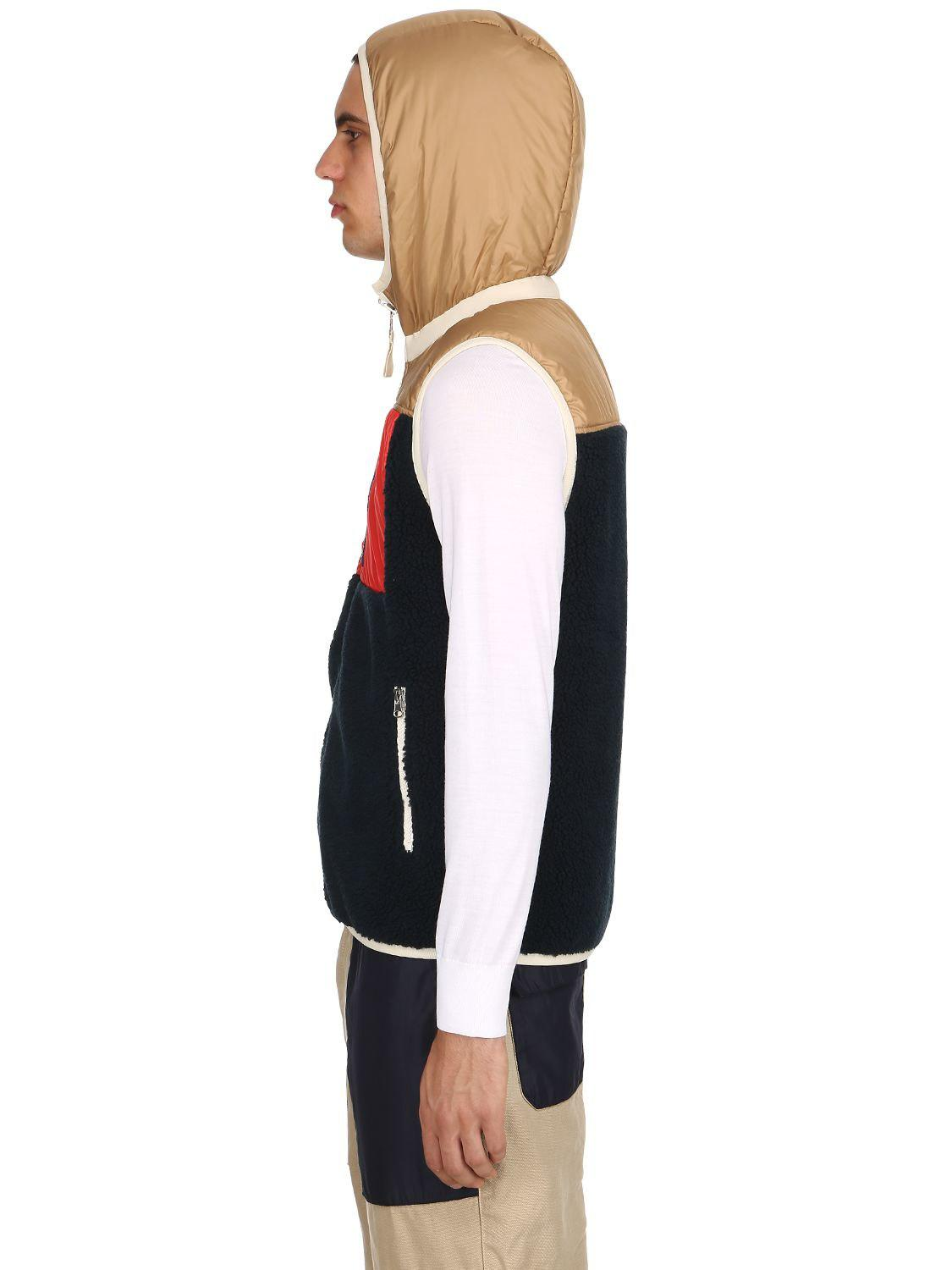 Diadora Lc23 Reversible Patchwork Vest in Navy (Blue) for