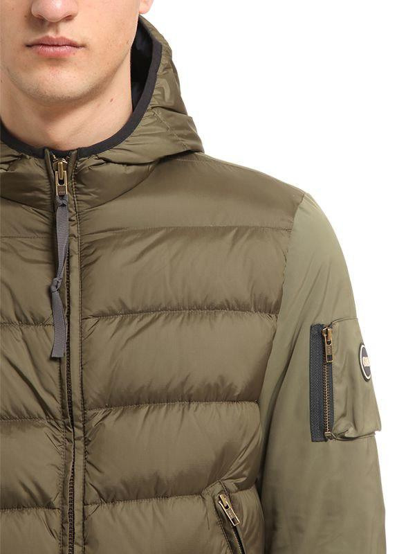 736928e8ed9 Lyst - COLMAR ORIGINALS System Nylon Down Jacket in Green for Men