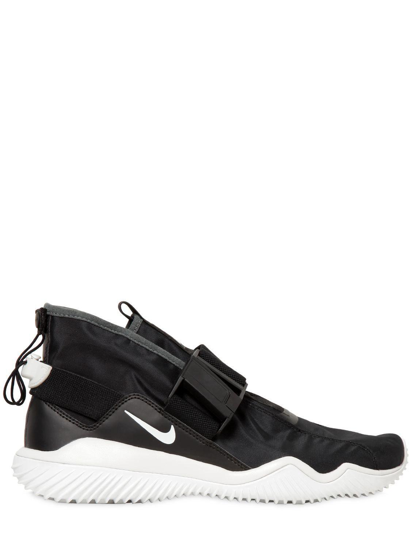 best sneakers ee189 b0a6b Nike. Mens Black Komyuter Waterproof Trainers