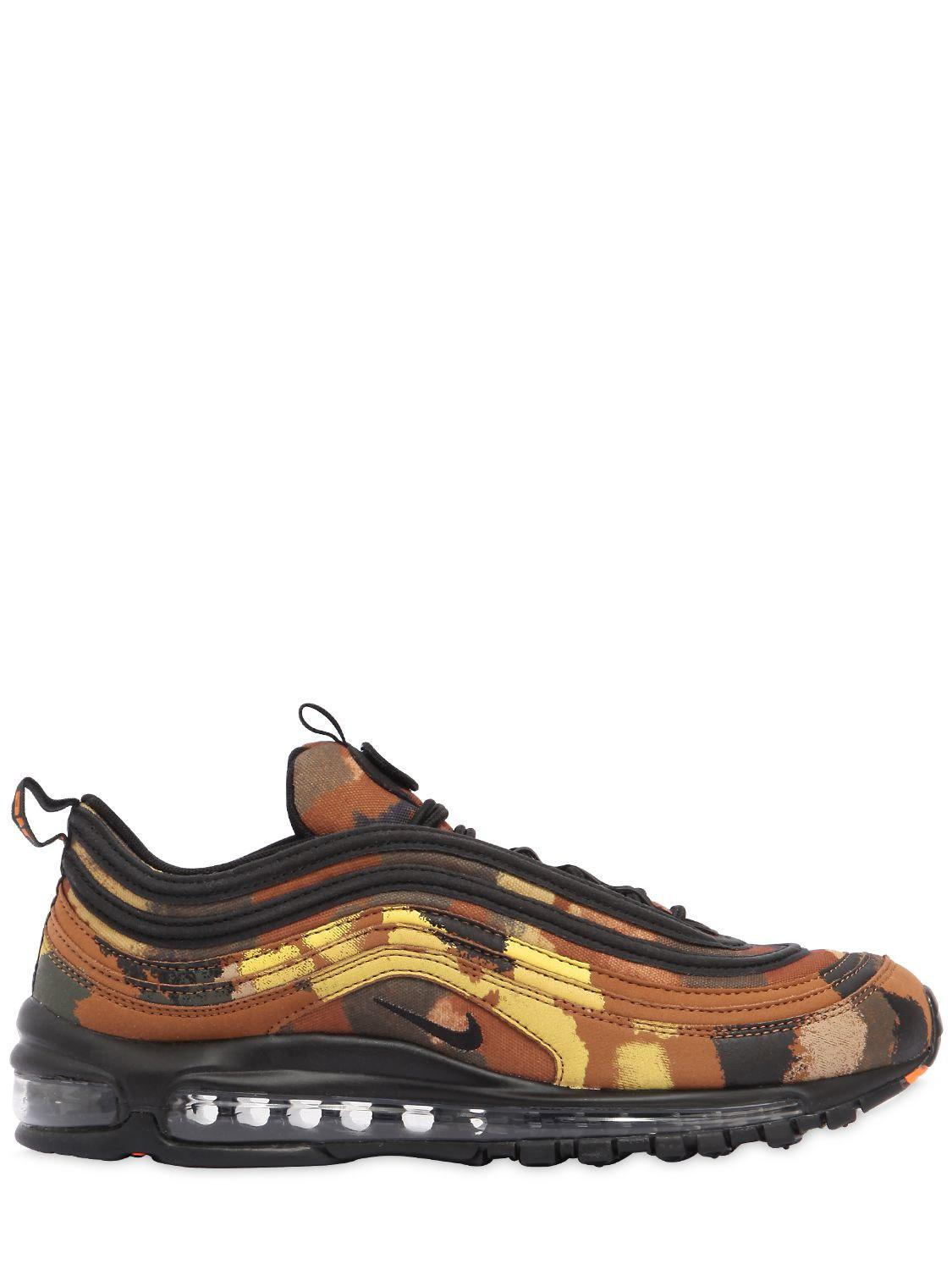 Nike. Men's Air Max 97 Camo Pack Italy Trainers