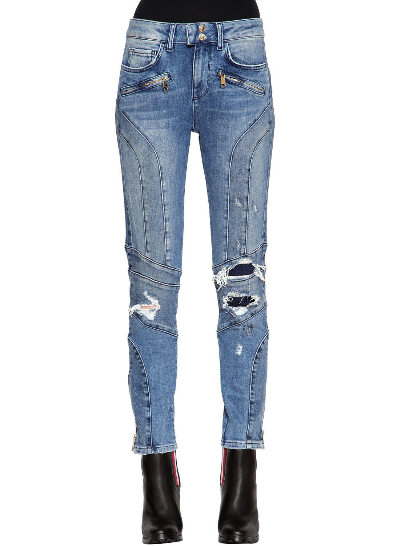 0ee20086 Tommy Hilfiger Gigi Hadid Venice Super Slim Denim Jeans in Blue - Lyst