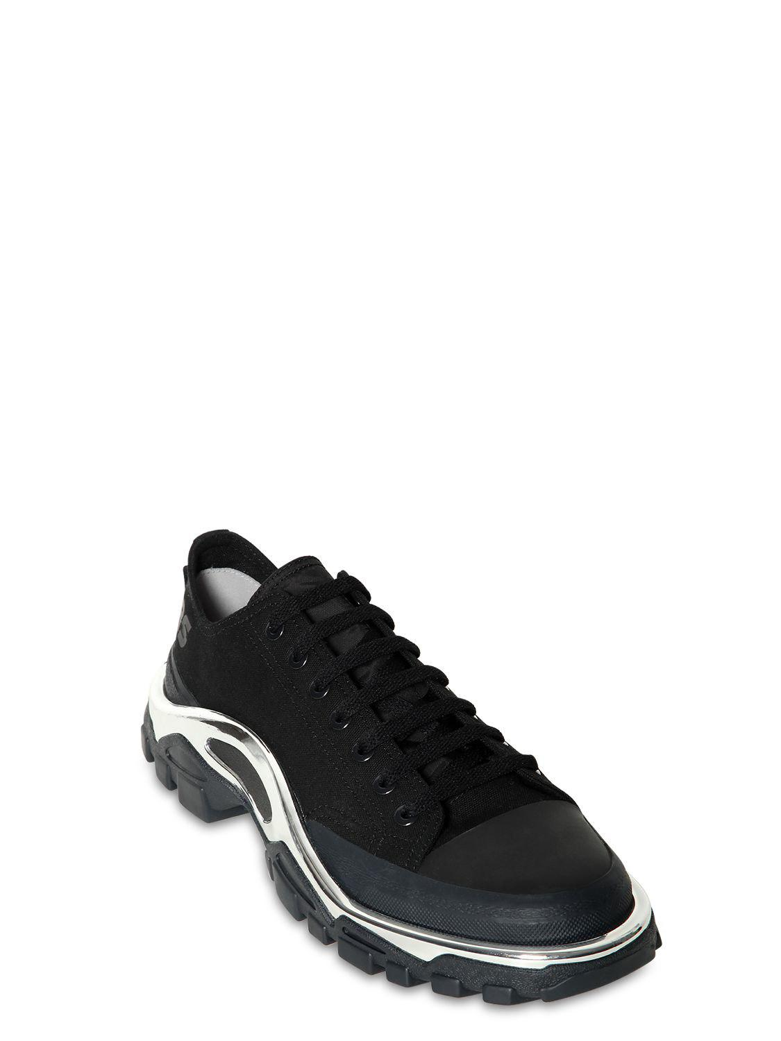 Adidas By Raf Simons - Black Rs Detroit Runner Sneakers for Men - Lyst.  View fullscreen a385dffea
