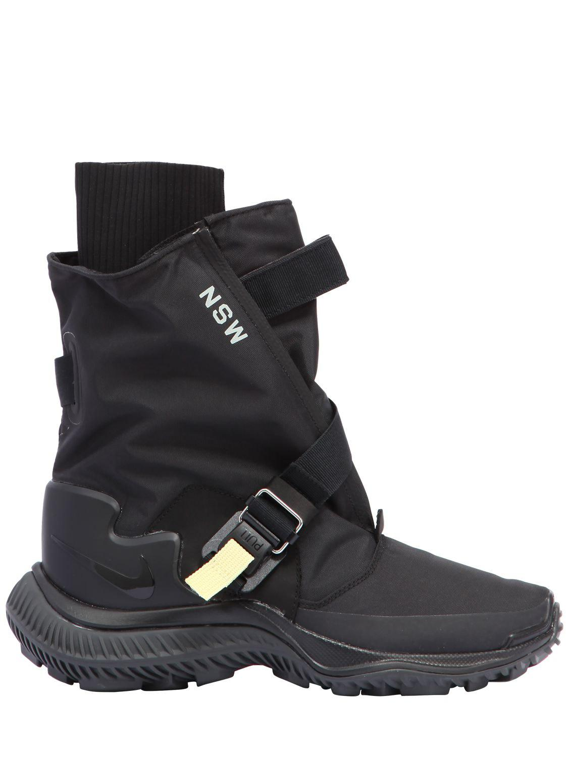 Lyst - Nike Acg.009.bt Waterproof Sneaker Boots in Black 3a8169626