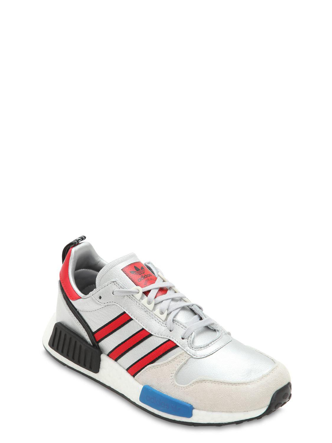 4f24450fecb79 Lyst - adidas Originals Rising Star X R1 Metallic Sneakers in Metallic for  Men