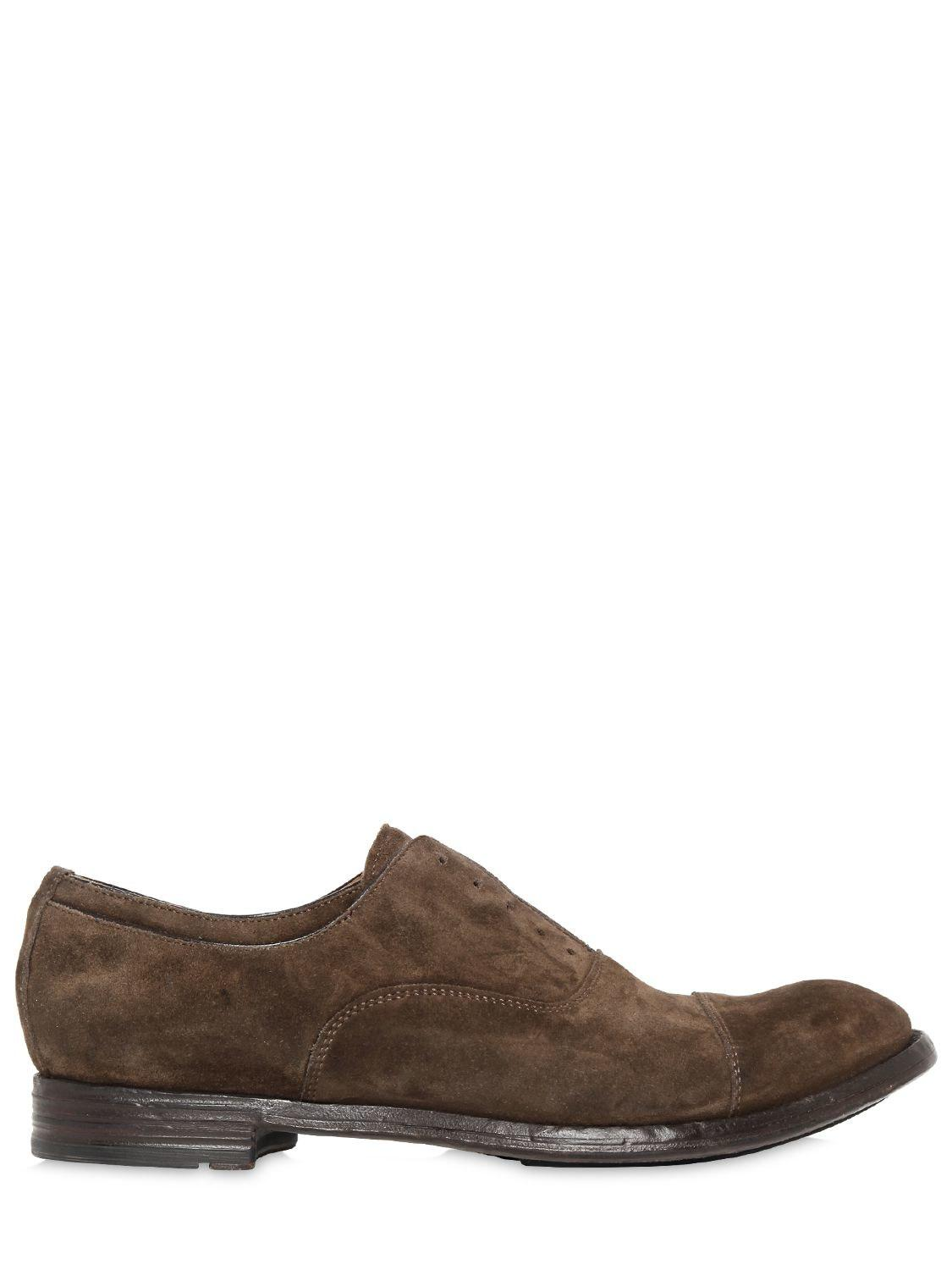 lace-up oxford shoes - Brown Officine Creative MnHUoKz1oV