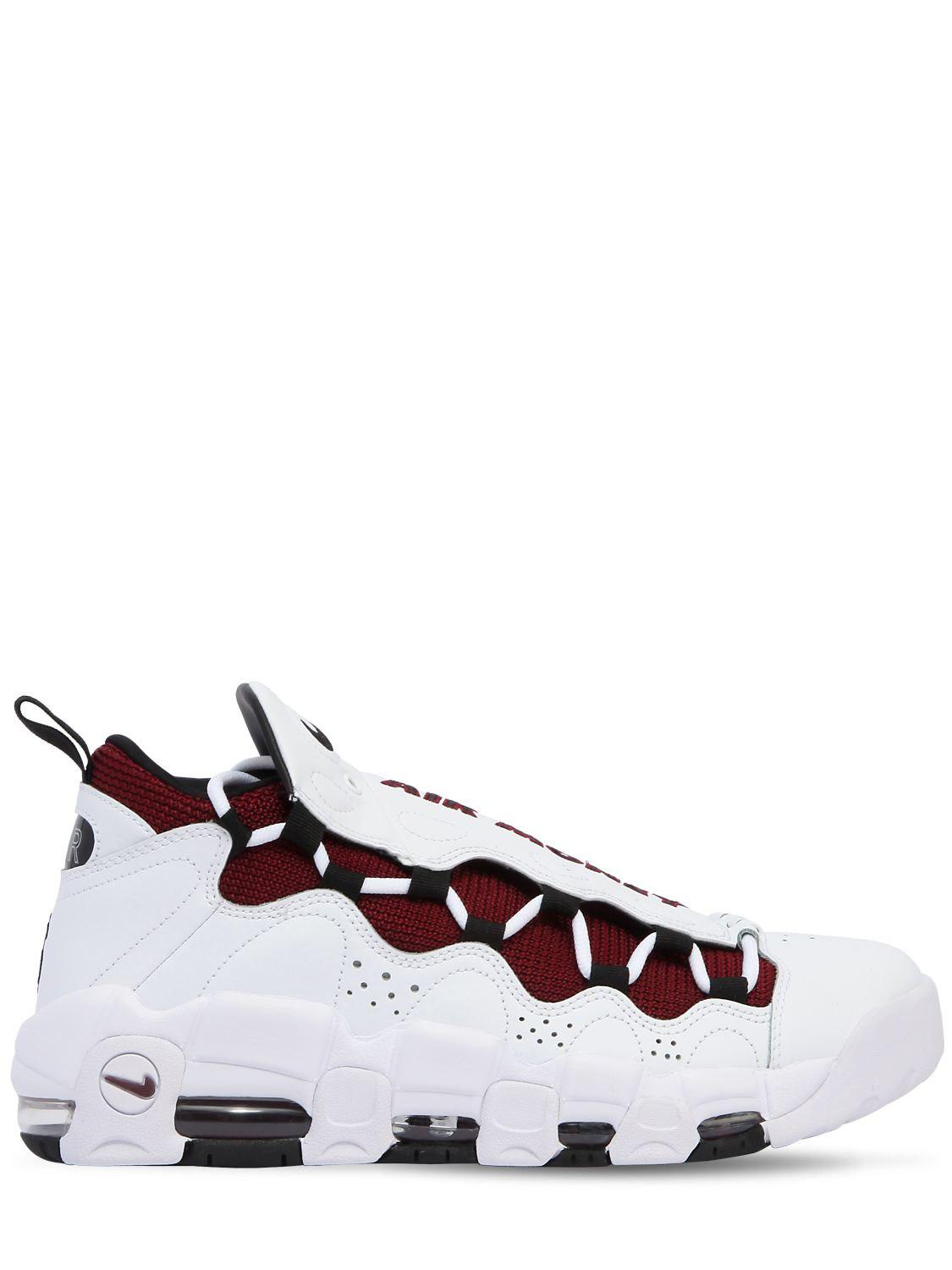 Nike. Women's White Air Get Money Leather Trainers