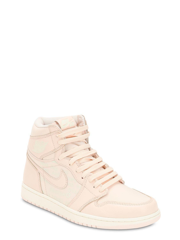 f902043575232d Nike Air Jordan 1 Retro High Og Sneakers in Pink for Men - Lyst