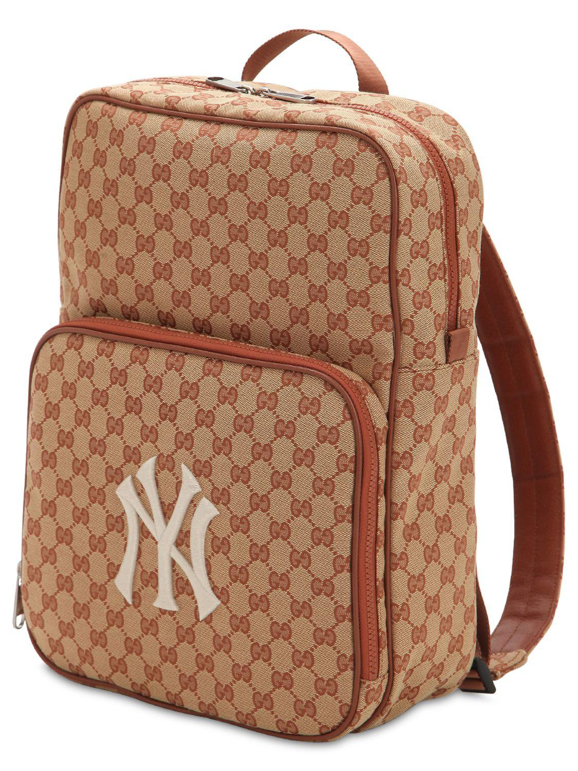 Gucci - Natural Original Gg Supreme Logo Backpack for Men - Lyst. View  fullscreen c5912ebbc0