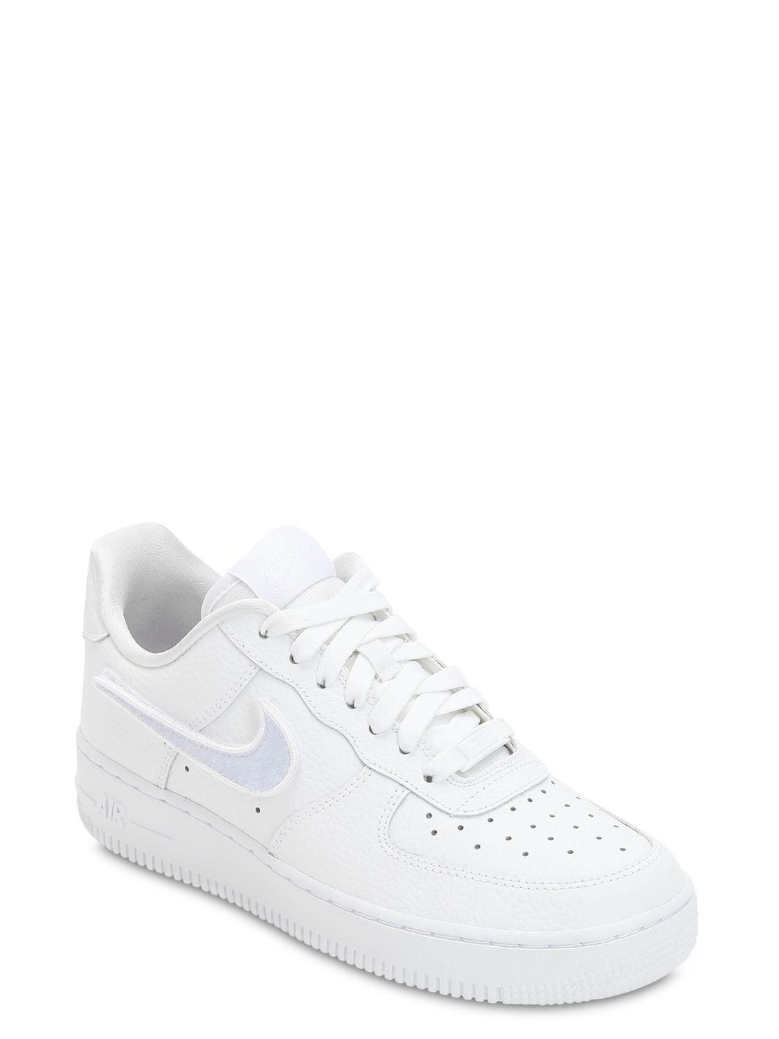 Nike AIR FORCE 1-100 CHANGEABLE LOGO SNEAKERS