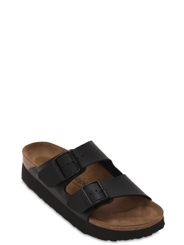 e1f97eb8f73 Birkenstock Papillio Arizona Platform Sandals in Black - Lyst