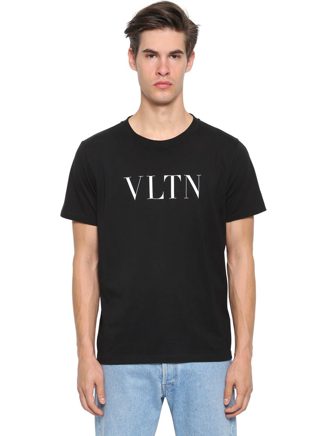 White Punk Star T-Shirt Valentino Cheap Price For Sale For Cheap Discount Vt26HhO8d