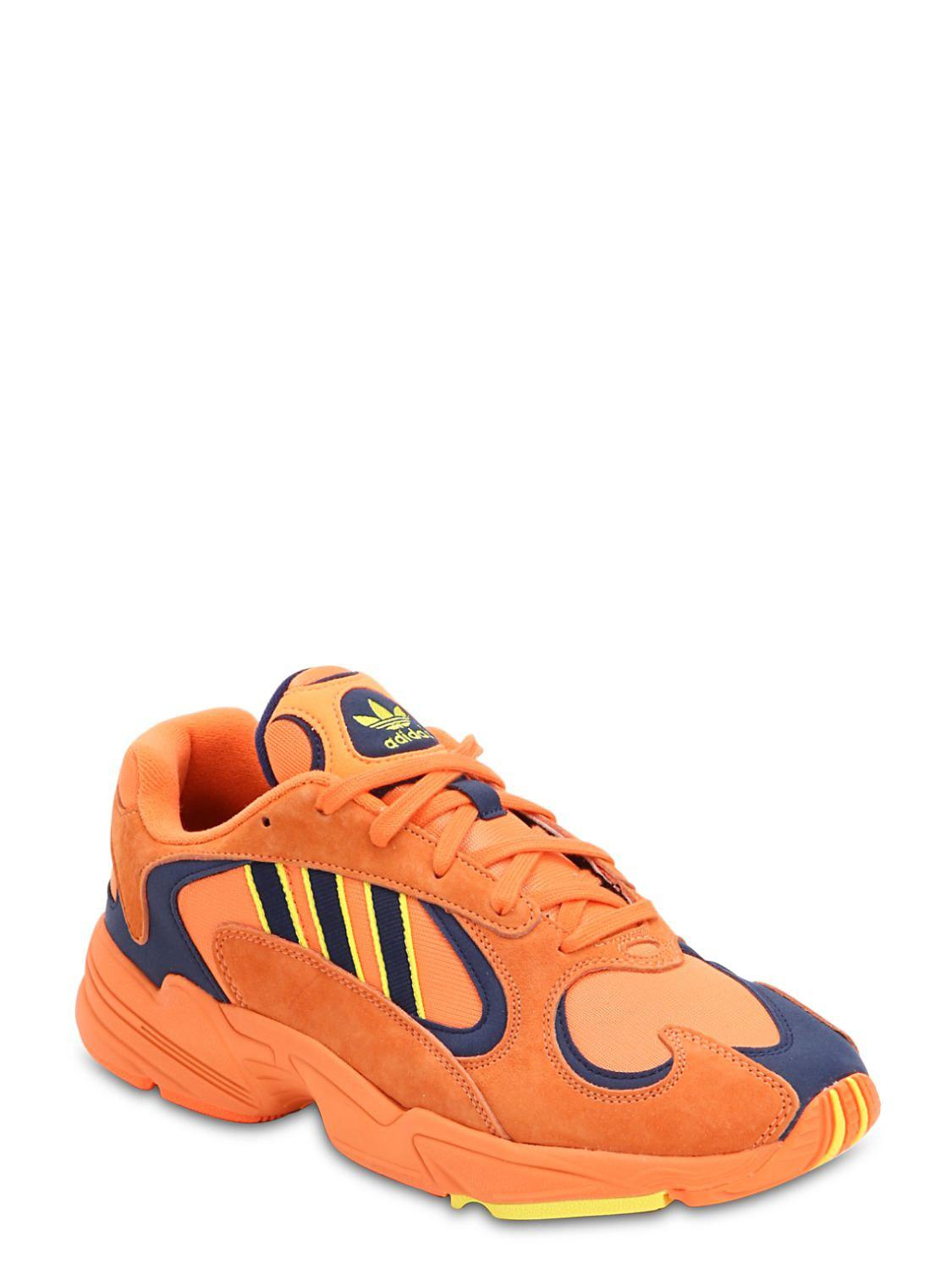 Lyst Adidas Originals Yung 1 Sneakers In Orange For Men Save
