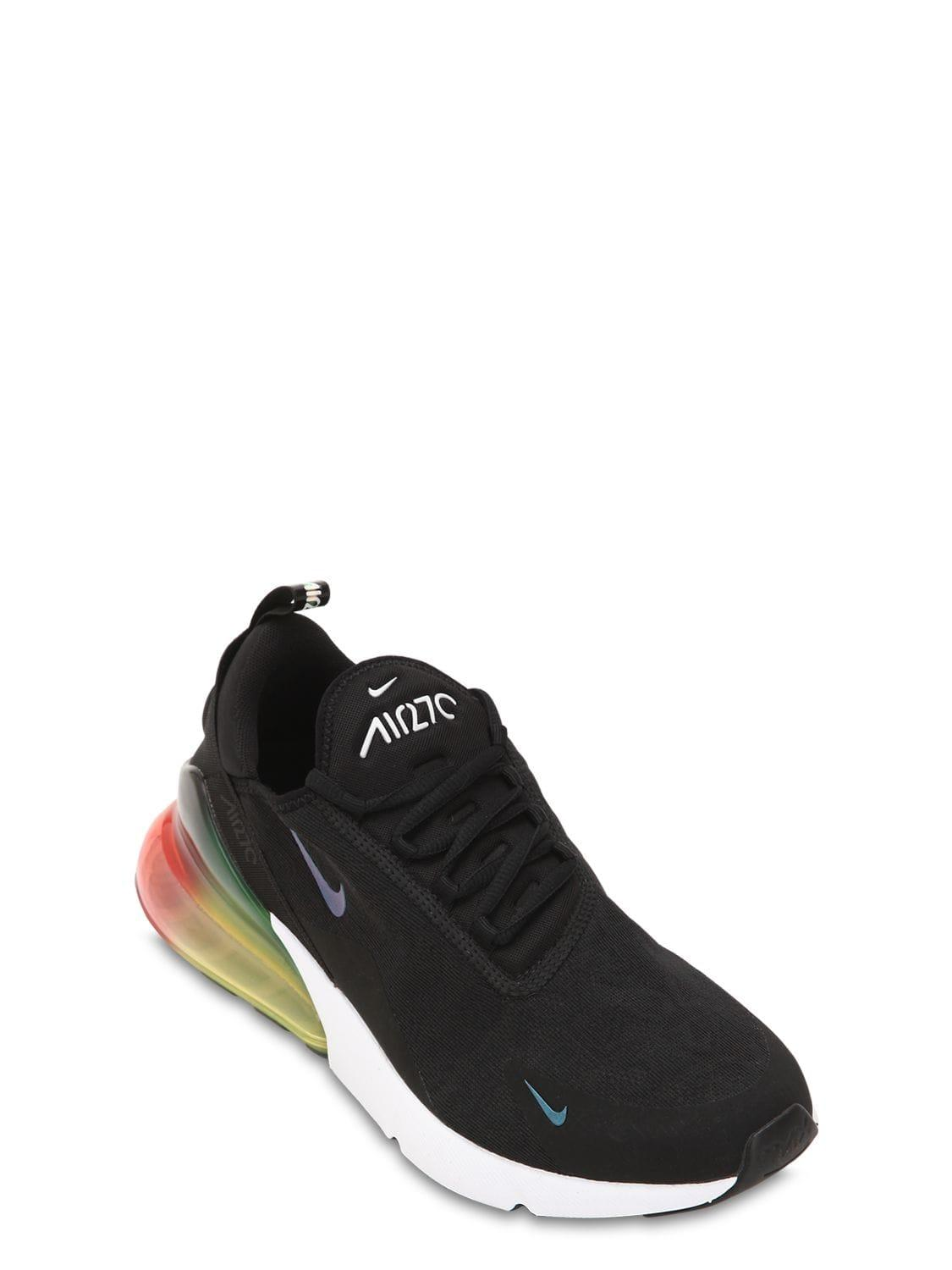 official photos ddee2 4fd55 Nike Air Max 270 Sneakers in Black for Men - Lyst