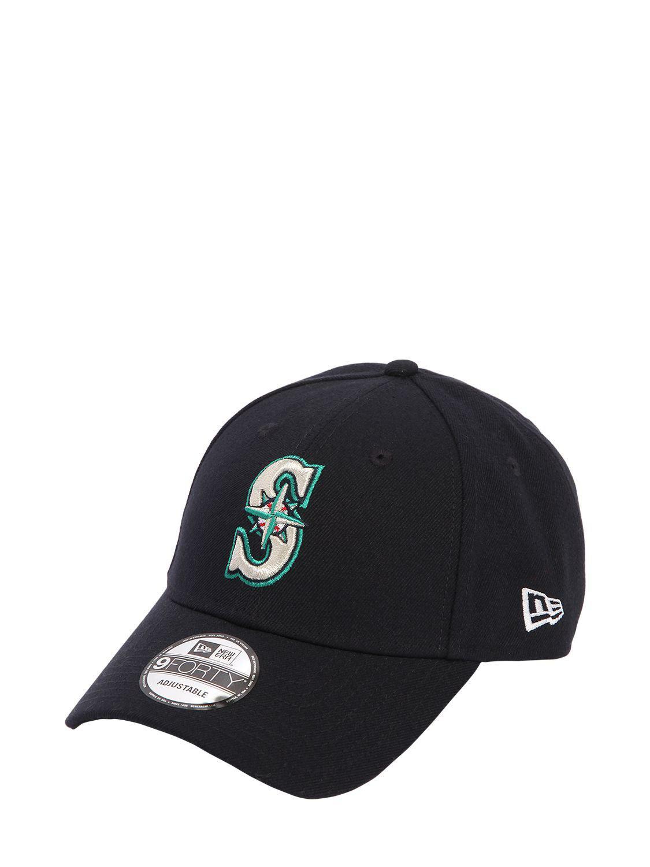 e490dd40f07 Lyst - KTZ 39thirty Seattle Mariners Mlb Hat in Black for Men