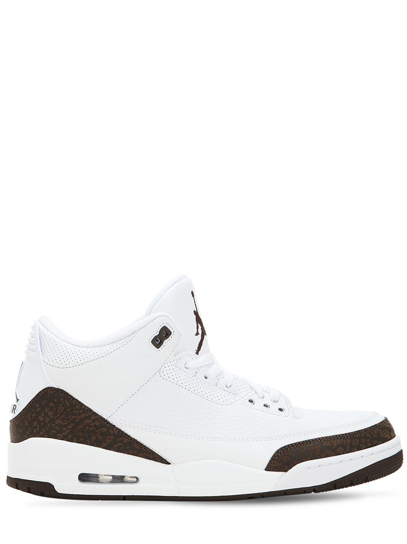 0432fb29260 Lyst - Nike Air Jordan 3 Mocha Retro Nrg Sneakers in White for Men