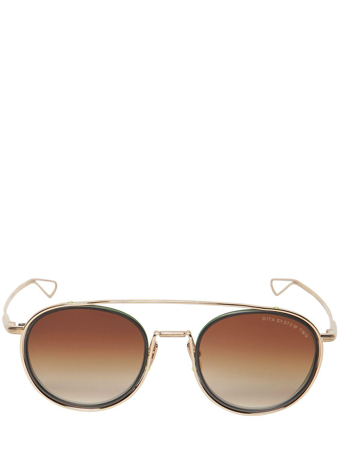 b1e5816a8d9 Lyst - DITA System Two Sunglasses for Men