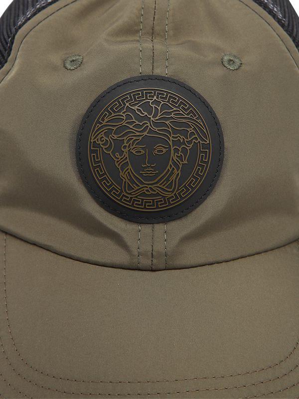 Lyst - Versace Medusa Baseball Hat in Green for Men 52be26db45dd