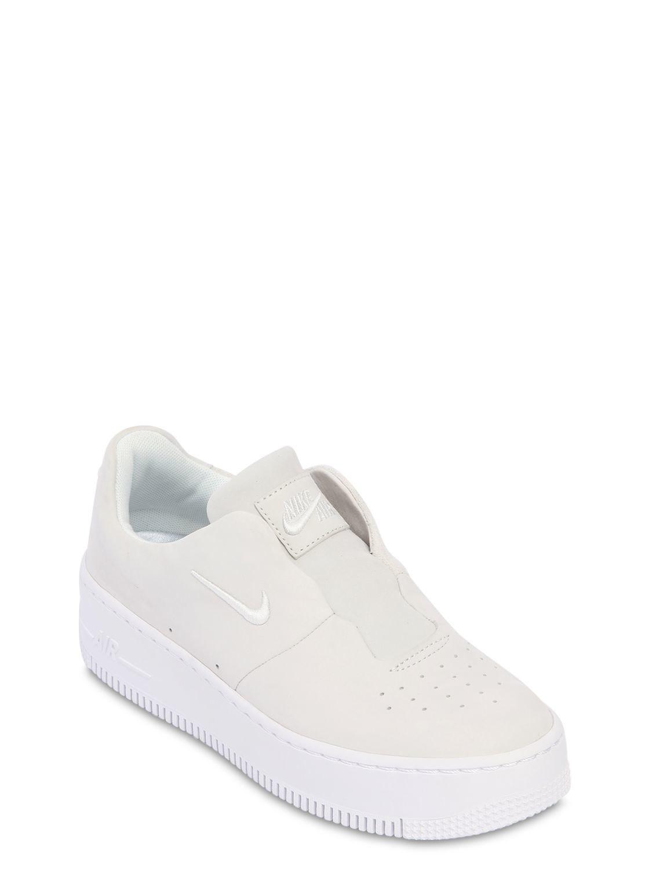 Nike BASKETS SLIP-ON AIR FORCE 1 SAGE XX Livraison Gratuite Fiable Achat De Sortie Sortie 100% Garanti Mu8qzfu