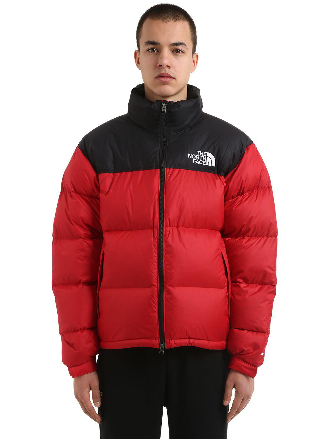 103e69453d The North Face 1996 Retro Nuptse Down Jacket in Red for Men - Lyst