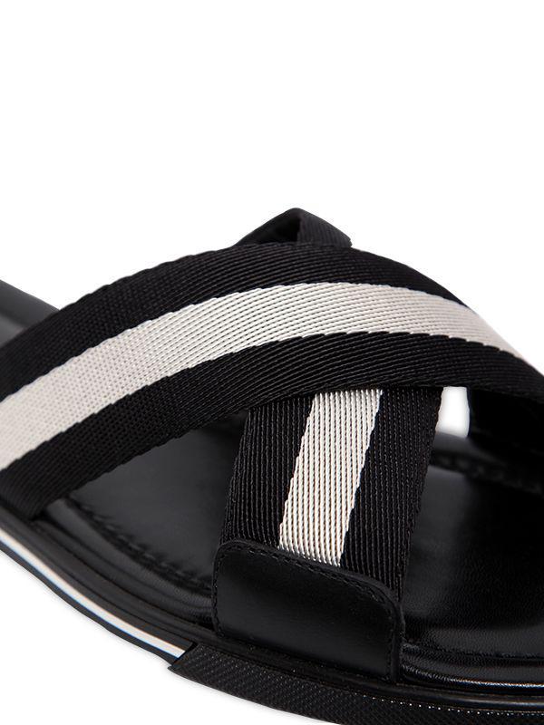 a9de3c2906db Lyst - Bally Bonks Slide Sandal in Black for Men