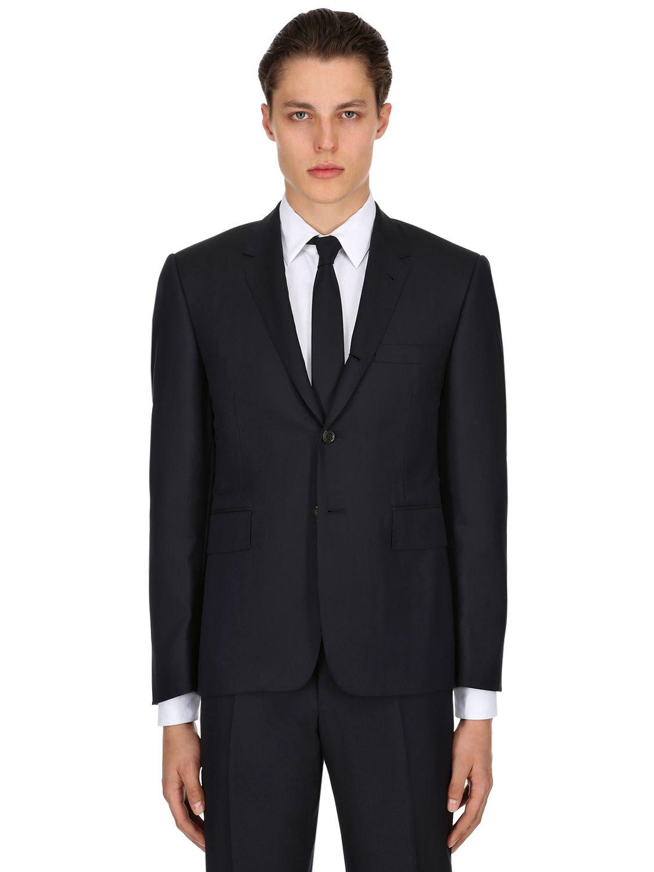 40e008fcddac Lyst - Thom Browne Light Wool Gabardine Suit in Blue for Men