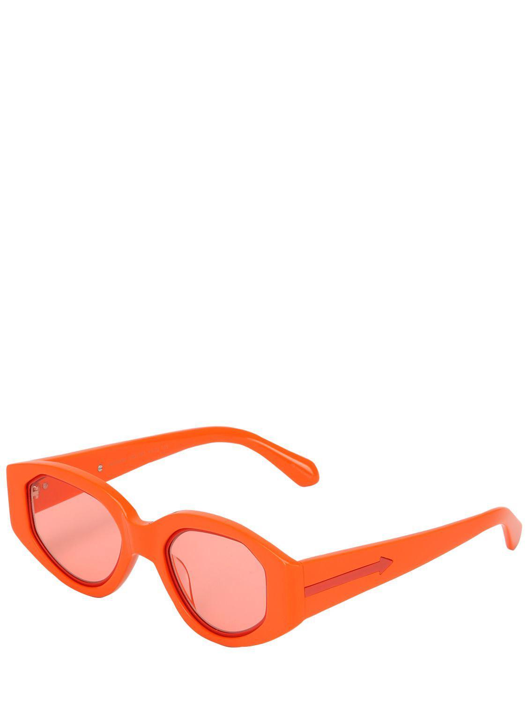 929bba58be407 ... Orange Lunettes De Soleil