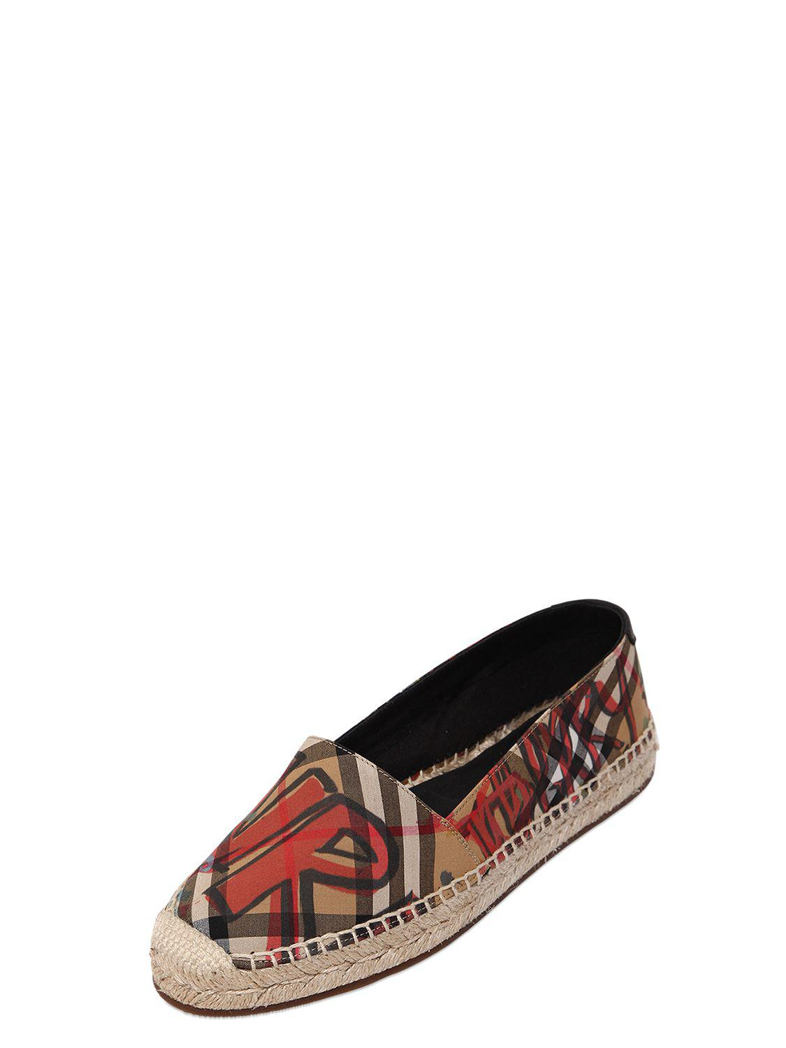 Burberry 20MM HOODGESON CANVAS ESPADRILLES Low Cost For Sale For Sale Top Quality Comfortable Cheap Price aupAJUEkwG