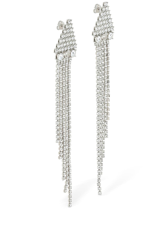 c00fd9ec3d3 Lyst - Gucci Tennis Crystal Pendant Earrings