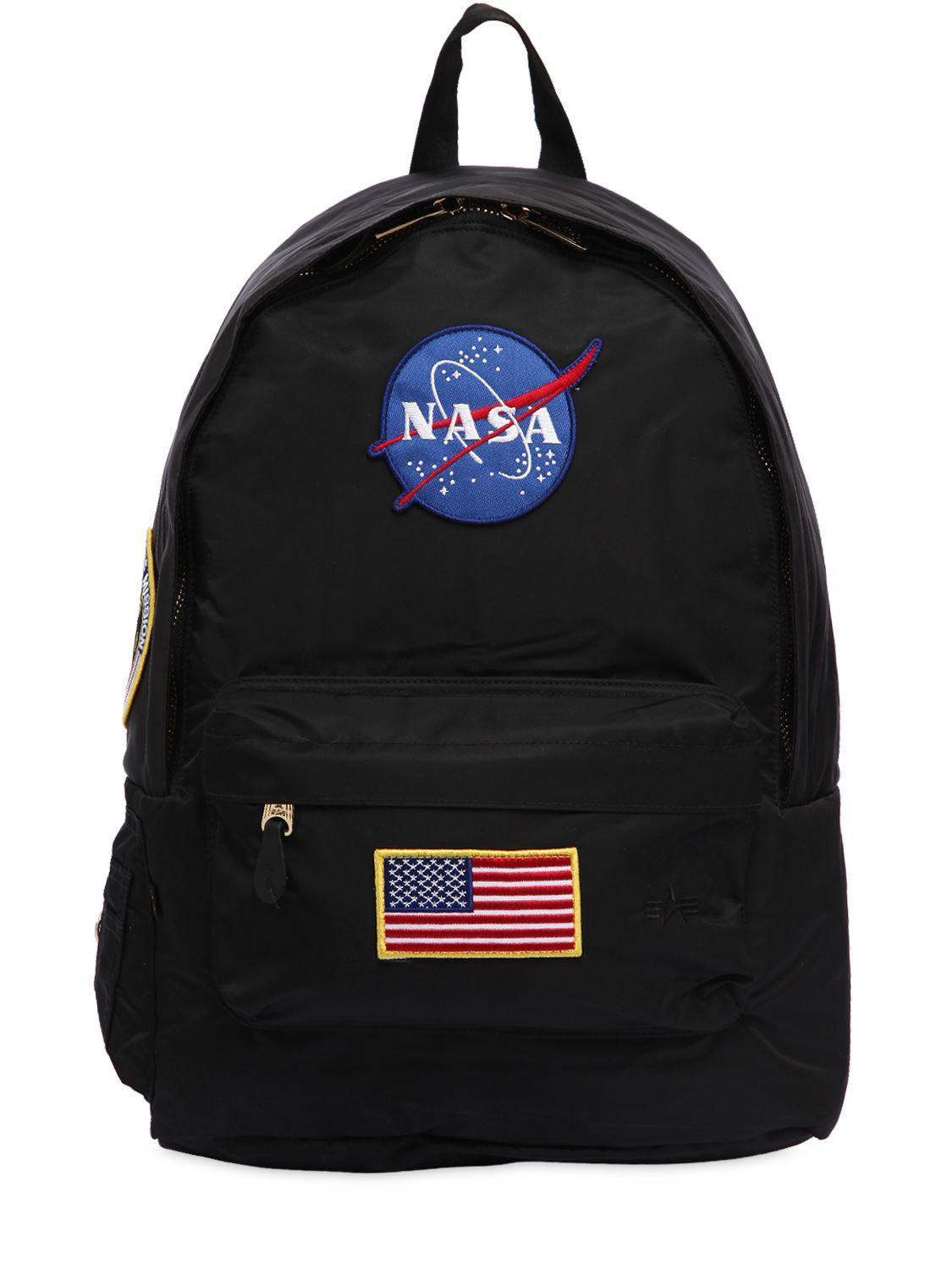 Lyst Alpha Industries Nasa Pilot Backpack In Black For Men