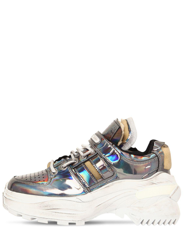 new styles 26a36 faa00 Maison Margiela. Women s 60mm Retrofit Iridescent Sneakers