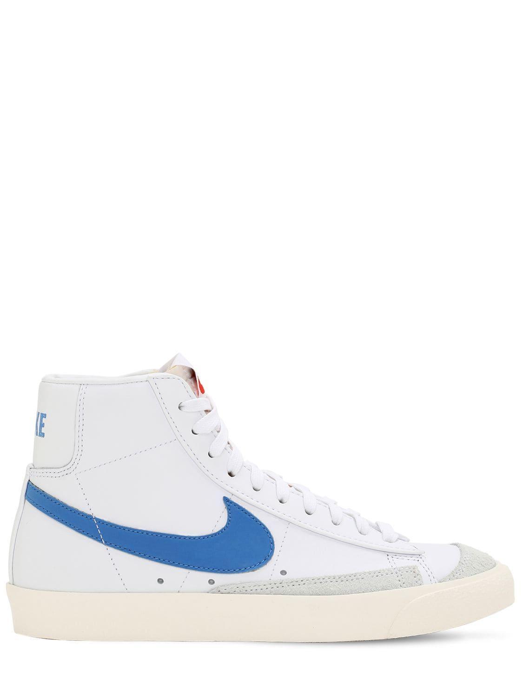 e1ef1153cb91b9 Lyst - Nike Blazer Mid 77 Vntg Sneakers in Blue