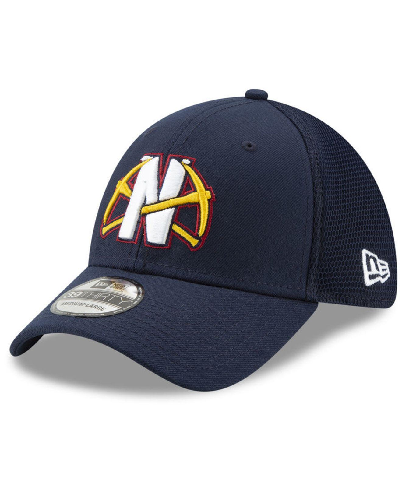 c50e1ae20fc03 Lyst - KTZ Denver Nuggets Back Half 39thirty Cap in Blue for Men