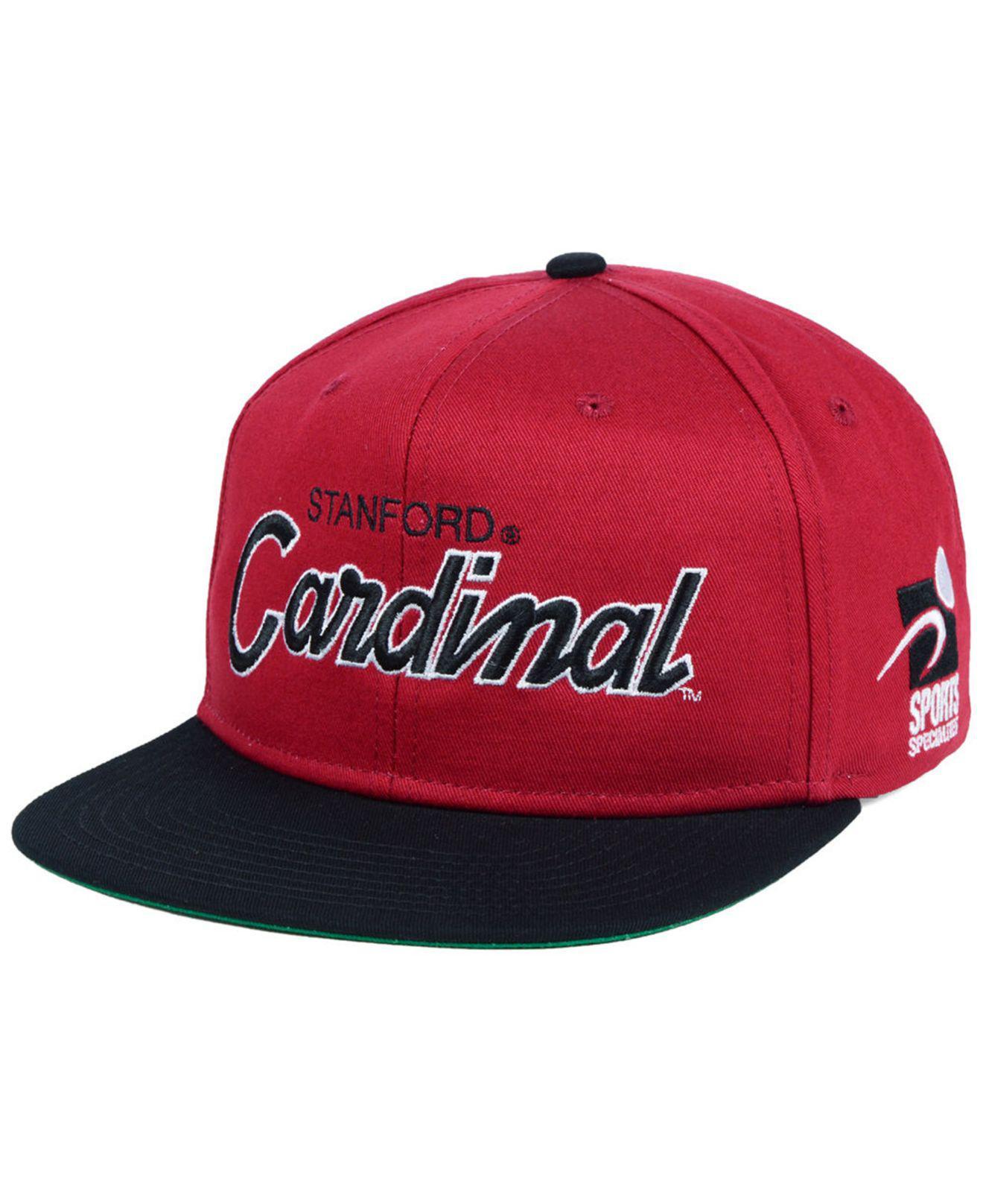 caa33021dbf Lyst - Nike Stanford Cardinal Sport Specialties Snapback Cap in Red ...