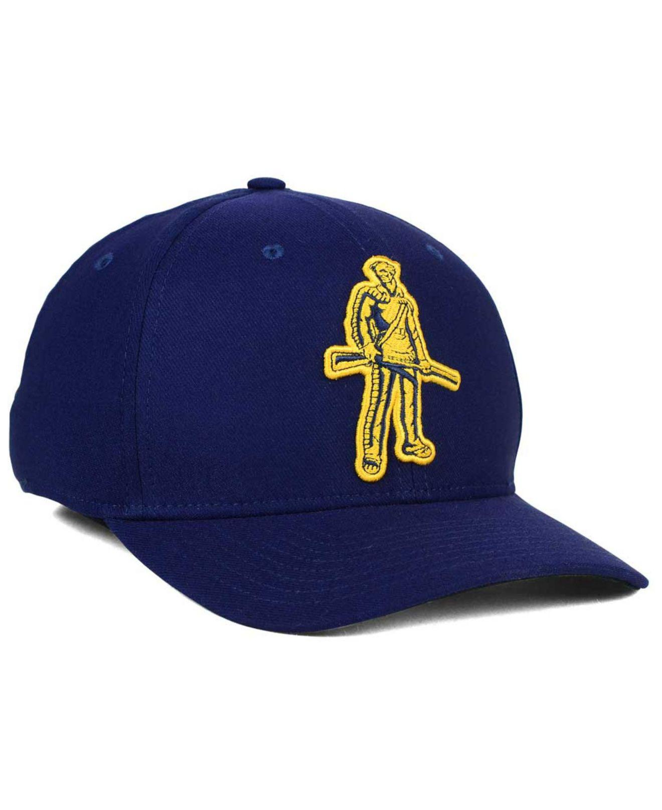 premium selection 58f5b 214d0 ... order nike blue west virginia mountaineers classic swoosh cap for men  lyst. view fullscreen 5278f